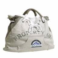 Colorado Rockies Hoodie Tote Bag