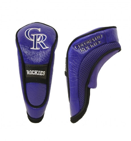Colorado Rockies Hybrid Golf Head Cover