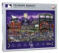 Colorado Rockies Joe Journeyman Puzzle