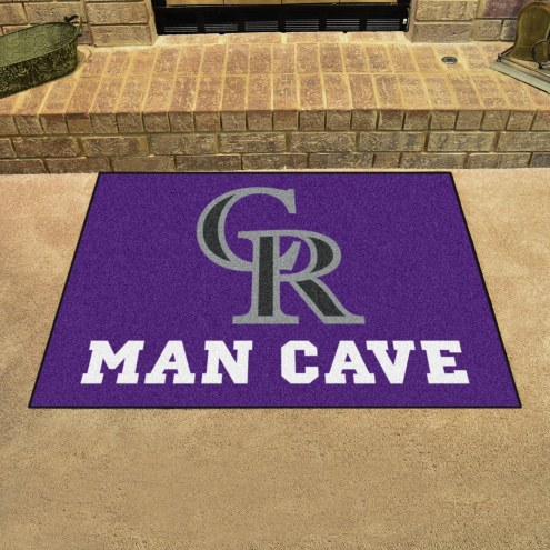Colorado Rockies Man Cave All-Star Rug