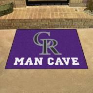 Colorado Rockies Man Cave All-Star Rug