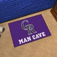 Colorado Rockies Man Cave Starter Mat