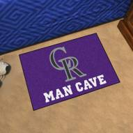 Colorado Rockies Man Cave Starter Mat