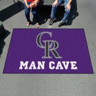 Colorado Rockies Man Cave Ulti-Mat Rug