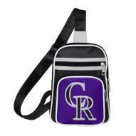 Colorado Rockies Mini Cross Sling Bag