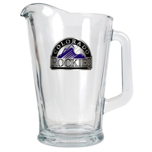 Colorado Rockies MLB 60 Oz. Glass Pitcher
