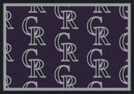 Colorado Rockies MLB Repeat Area Rug