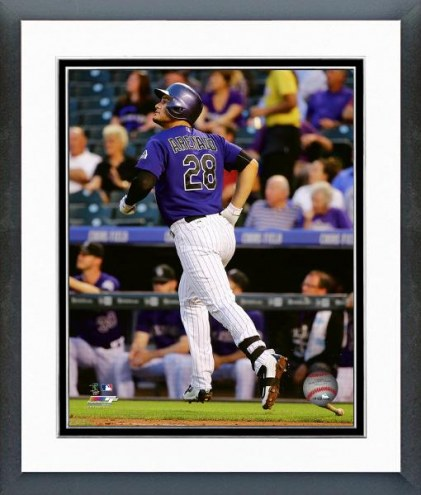 Colorado Rockies Nolan Arenado Action Framed Photo