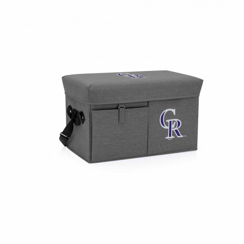 Colorado Rockies Ottoman Cooler & Seat