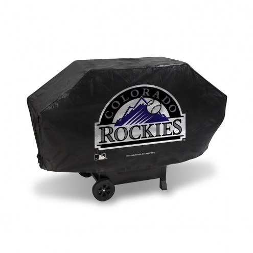 Colorado Rockies Padded Grill Cover