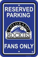 Colorado Rockies Parking Sign