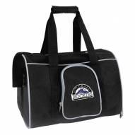 Colorado Rockies Premium Pet Carrier Bag