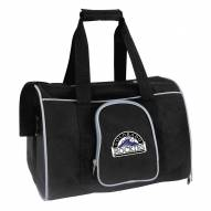 Colorado Rockies Premium Pet Carrier Bag