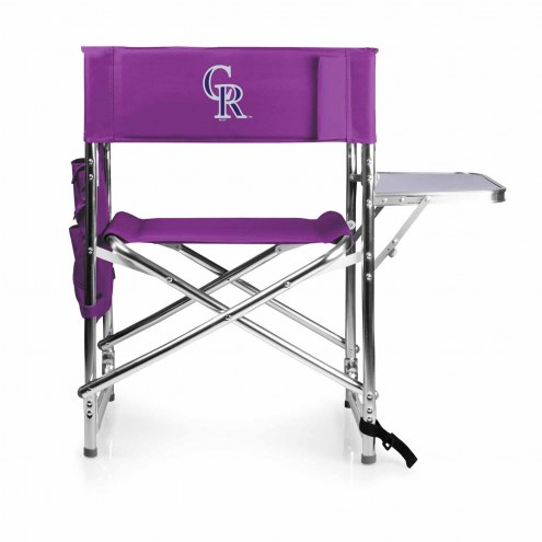 Colorado Rockies Purple Sports Folding Chair