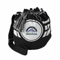 Colorado Rockies Ripple Drawstring Bucket Bag