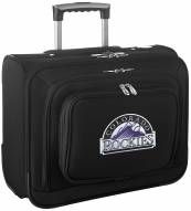 Colorado Rockies Rolling Laptop Overnighter Bag