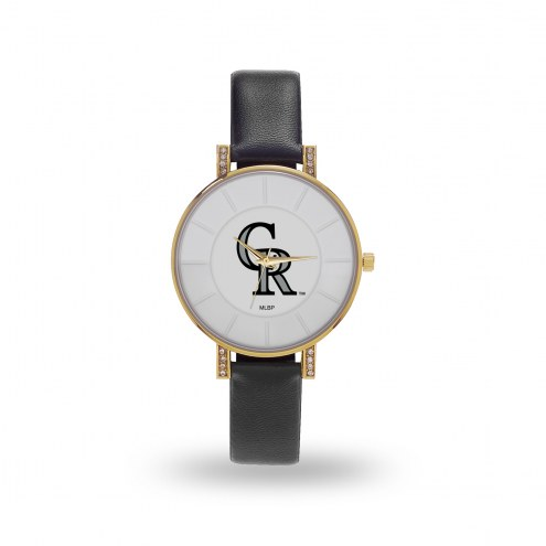 Colorado Rockies Sparo Women's Lunar Watch