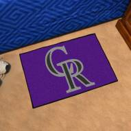 Colorado Rockies Starter Rug
