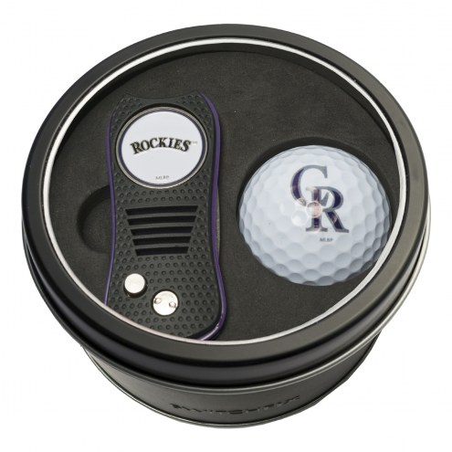 Colorado Rockies Switchfix Golf Divot Tool & Ball