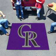 Colorado Rockies Tailgate Mat