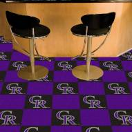 Colorado Rockies Team Carpet Tiles