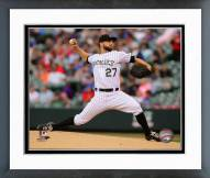 Colorado Rockies Tyler Chatwood Action Framed Photo