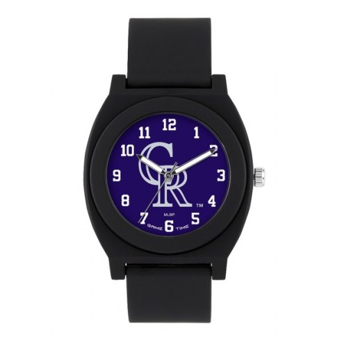 Colorado Rockies Unisex Fan Black Watch
