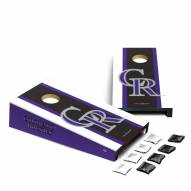Colorado Rockies Mini Cornhole Set