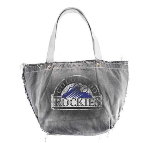 Colorado Rockies Vintage Tote Bag