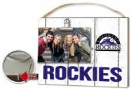 Colorado Rockies Weathered Logo Photo Frame