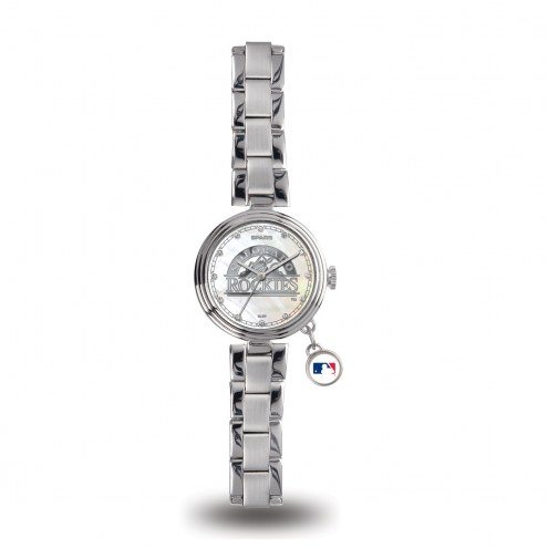 Colorado Rockies Women's Charm Watch
