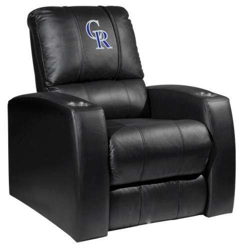 Colorado Rockies XZipit Relax Recliner with Secondary Logo