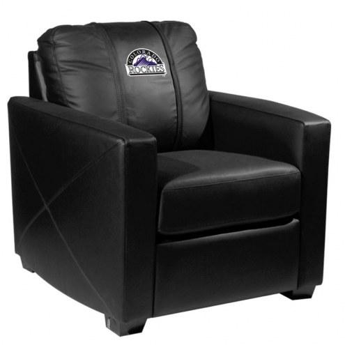 Colorado Rockies XZipit Silver Club Chair