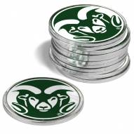 Colorado State Rams 12-Pack Golf Ball Markers