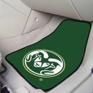 Colorado State Rams 2-Piece Carpet Car Mats