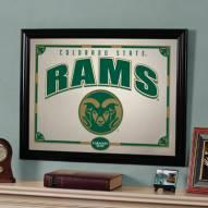 """Colorado State Rams 23"""" x 18"""" Mirror"""
