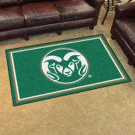 Colorado State Rams 4' x 6' Area Rug