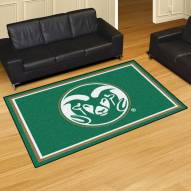 Colorado State Rams 5' x 8' Area Rug