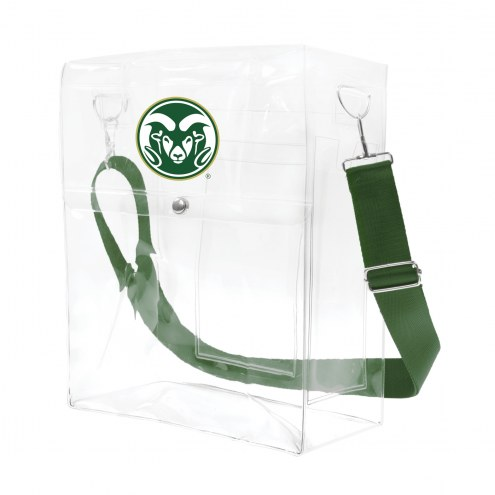 Colorado State Rams Clear Ticket Satchel