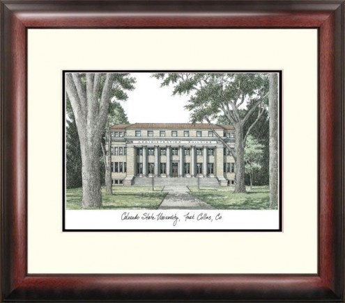 Colorado State Rams Alumnus Framed Lithograph