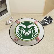 Colorado State Rams Baseball Rug