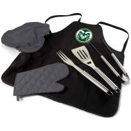 Colorado State Rams BBQ Apron Tote Set