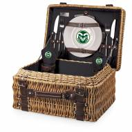 Colorado State Rams Black Champion Picnic Basket