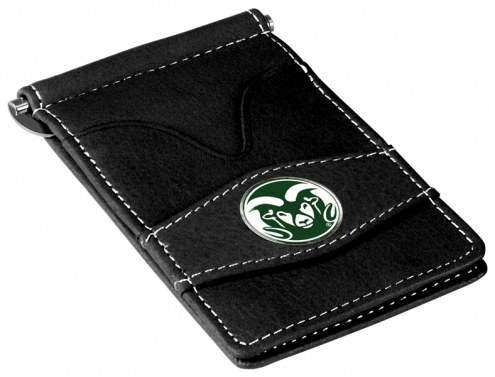 Colorado State Rams Black Player's Wallet