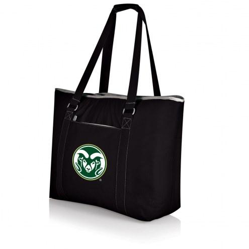 Colorado State Rams Black Tahoe Beach Bag