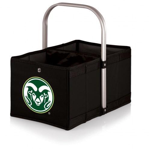 Colorado State Rams Black Urban Picnic Basket