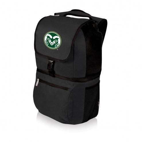 Colorado State Rams Black Zuma Cooler Backpack