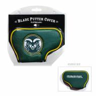 Colorado State Rams Blade Putter Headcover