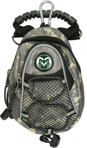 Colorado State Rams Camo Mini Day Pack