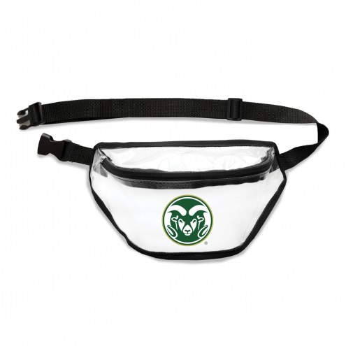 Colorado State Rams Clear Fanny Pack
